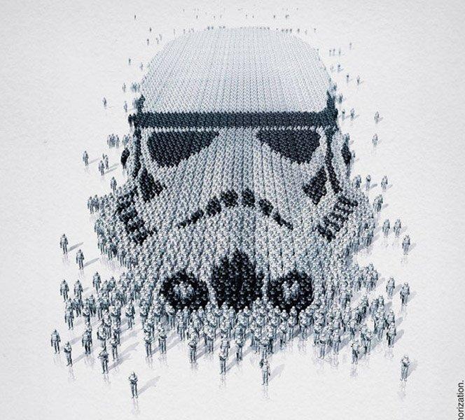 Exposição de Star Wars divulgada em posters lindos