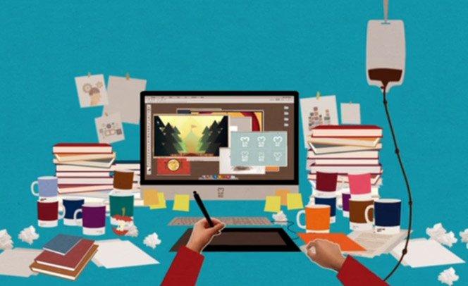 Vídeo divertido retrata  a difícil vida dos criativos em agências