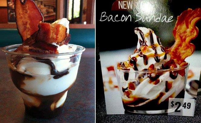 Burger King lança sorvete de bacon