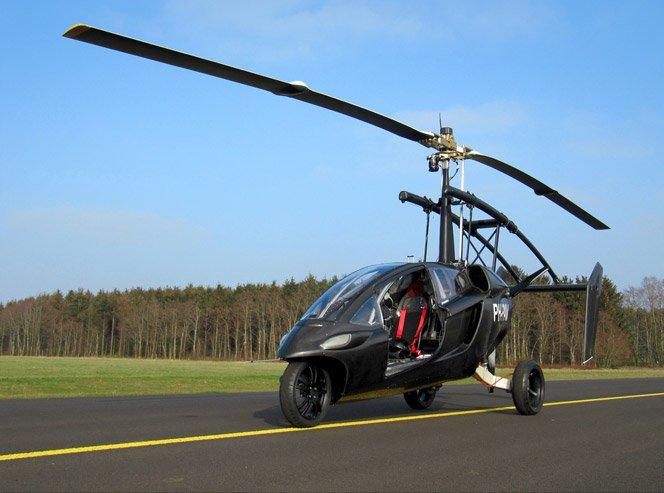 Carro + Helicóptero: O carro que voa já é realidade.