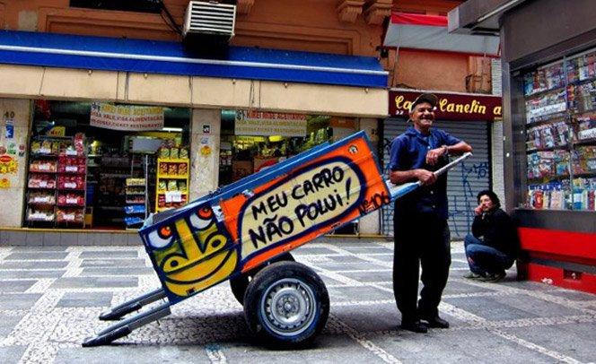 Pimp my carroça – Ação tuna carroças para valorizar os catadores de lixo