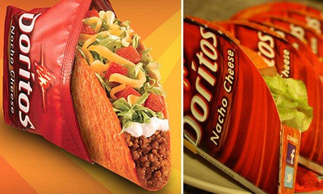 Doritos cria tacos levando o sabor do salgadinho para a comida mexicana