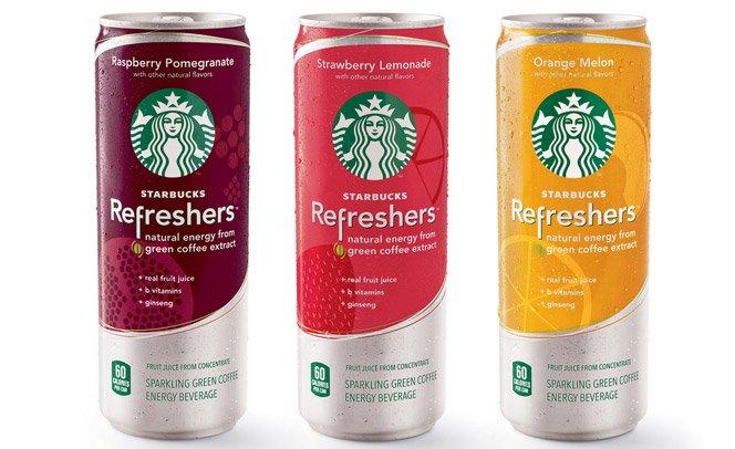 Starbucks lança energético que promete competir com Red Bull