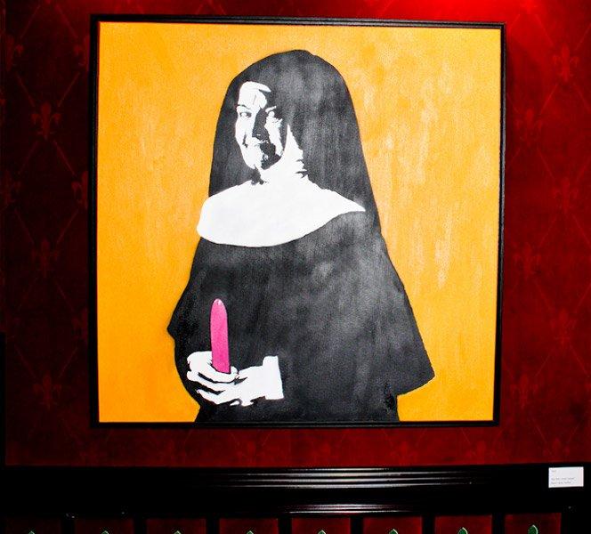 Exposição mostra lado erótico da arte
