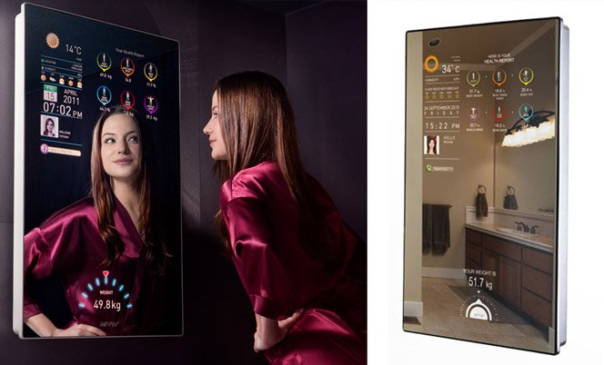 Espelho Touch Screen já é realidade na China e no Reino Unido