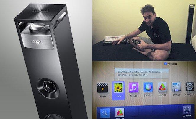 Som 3D no novo Home Theater da LG – Veja o vídeo de nossa avaliação