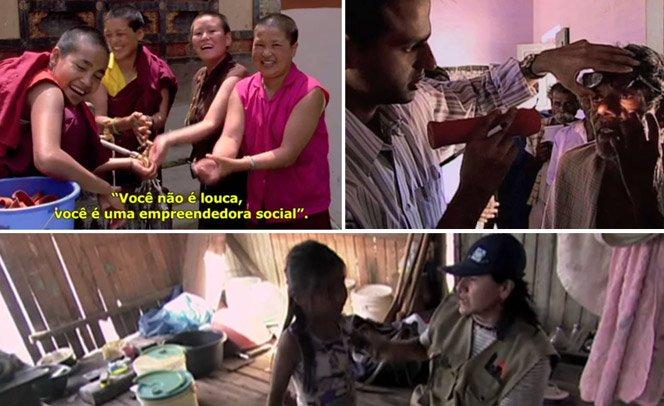 Documentário sobre pessoas que resolveram mudar a realidade a sua volta