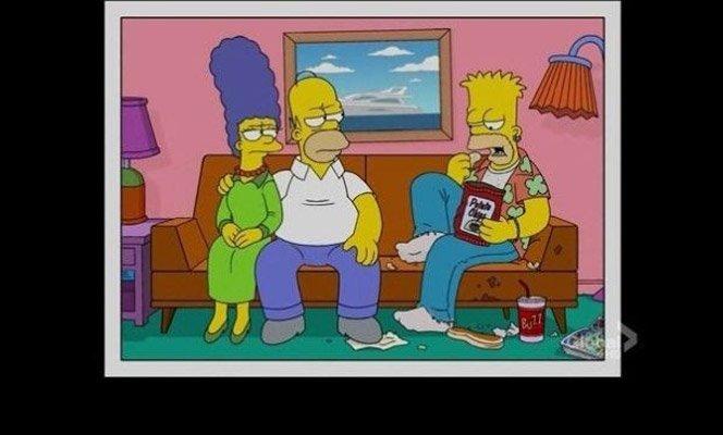 Fotos da família Simpson mostram o futuro dos personagens