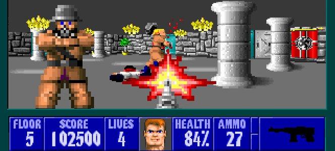Nostalgia jogando Wolfenstein 3D no iPhone