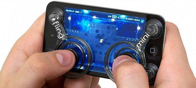 Fling, o joystick para tablets e smartphones