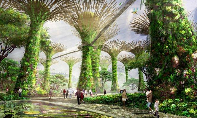 Jardins verticais que trazem novas  possibilidades pro ecossistema urbano
