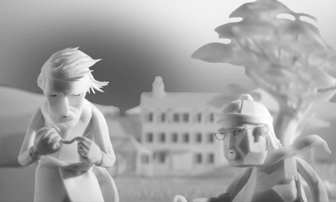 Curta de animação mostra a luta de um homem contra o tempo