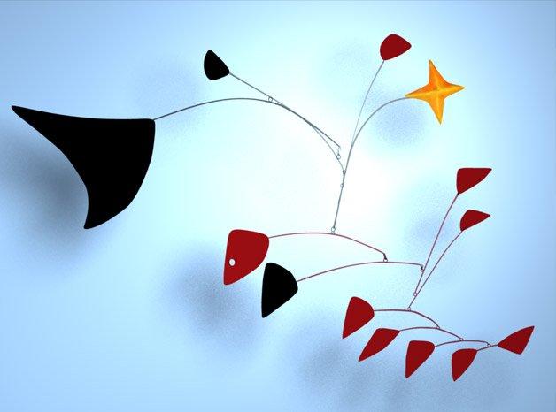 Os melhores móbiles de Alexander Calder