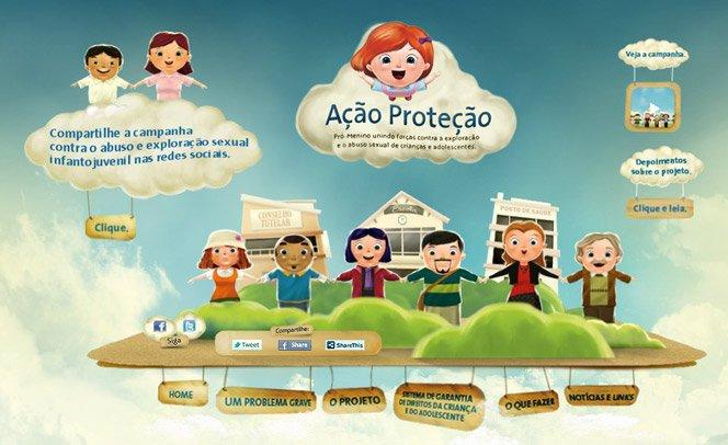 Conheça o projeto Ação Proteção que uneforças contra o abuso sexual de menores