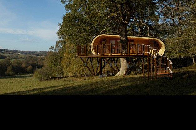 Casa na árvore de luxo