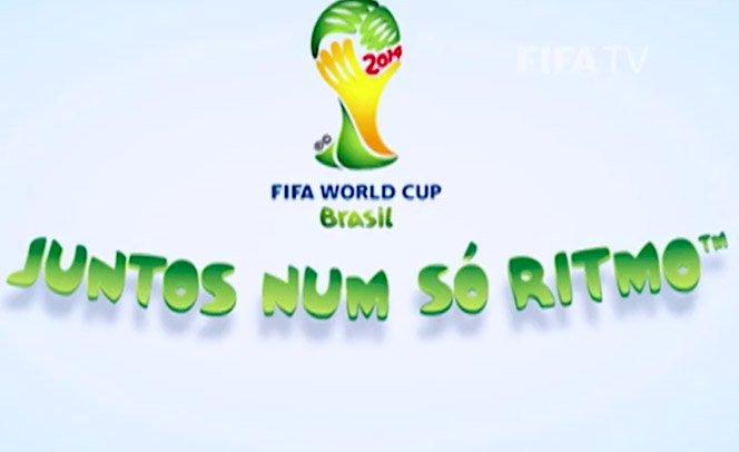 FIFA apresenta slogan oficial do mundial de 2014