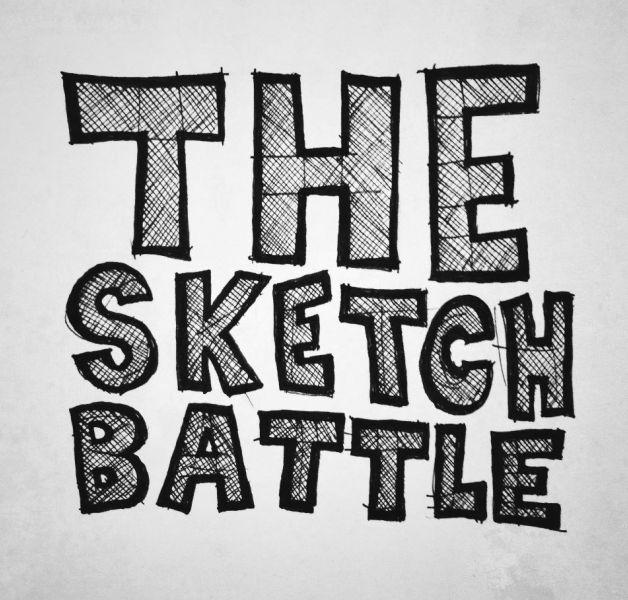 THE SKETCH BATTLE: Já pensou em mandar os seu desenhos para uma arena?