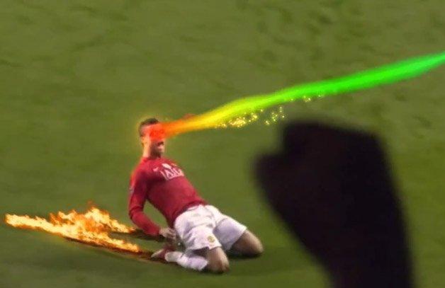 Vídeo mostra efeitos especiais para comemorar um gol no futebol