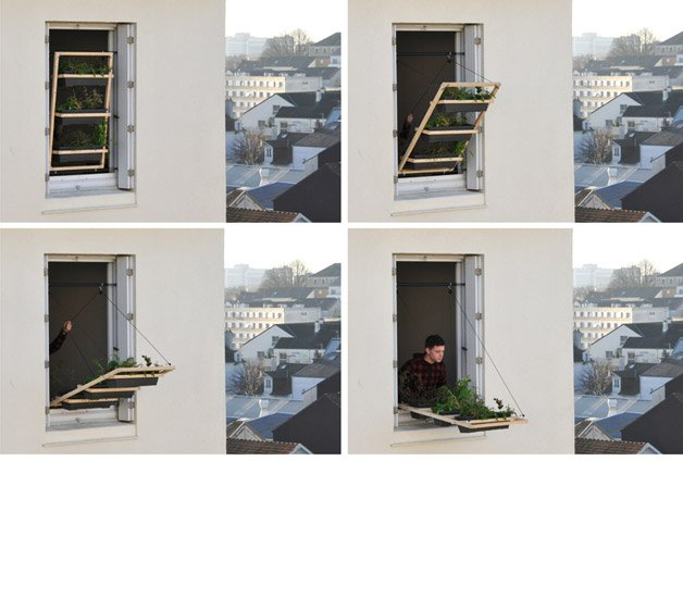 Inovação permite ter horta em casas com pouco espaço