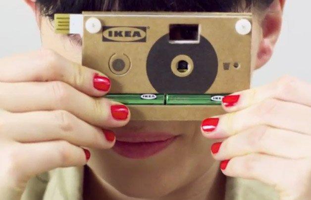 IKEA lança câmera digital reciclável