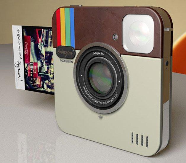 Câmera digital do Instagram imprime fotos como uma Polaroid