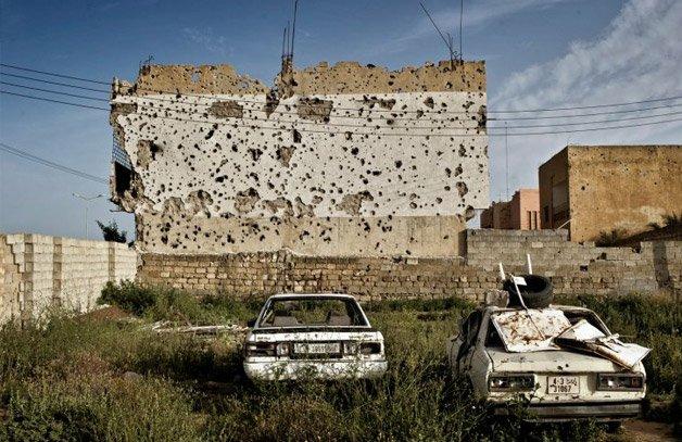 Fotógrafo mostra a Líbia depois da revolução