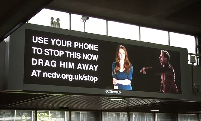 Use seu celular para acabar com a violência doméstica