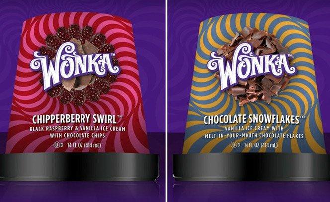 Sorvetes do Willy Wonka