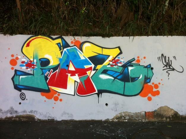 Ensinando graffiti em escolas públicas