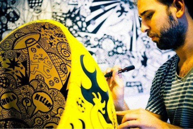 """Vitor Rolim: """"Me divirto desenhando, se divirta observando!"""""""