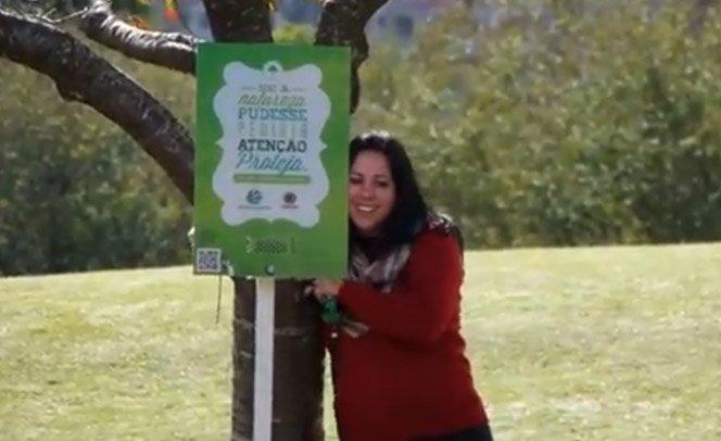 O que você faria ao se deparar com árvores falantes?