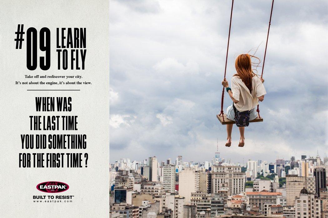 Quando foi a última vez que você fez algo pela primeira vez?