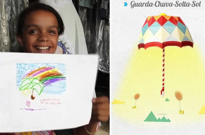 Crianças inventam produtos imaginários para conseguir doações para ONG