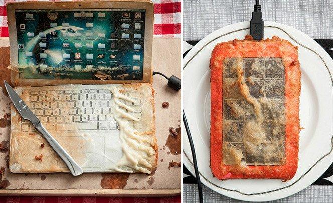 Artista frita gadgets pra criticar o consumismo desenfreado