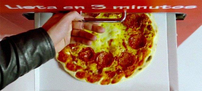 Uma nova forma de  comer pizza