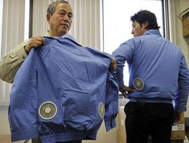 Roupa com ar condicionado faz sucesso no Japão