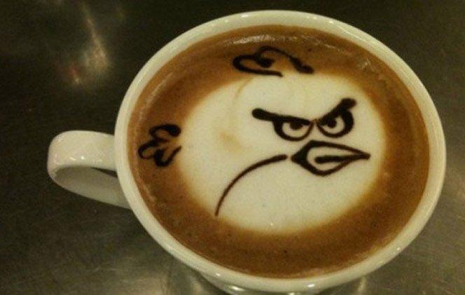 Arte no cafezinho diário