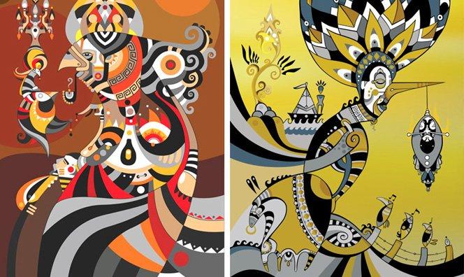 Gravuras incríveis inspiradas no grafite