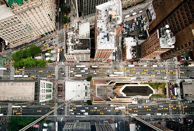 Nova York fotografada de cima