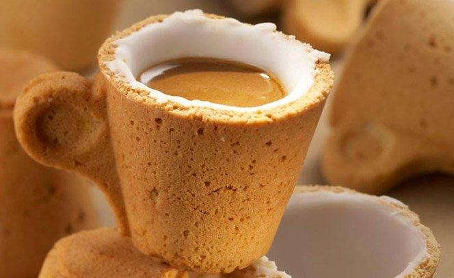 The Cookie Cup – a xícara de café comestível