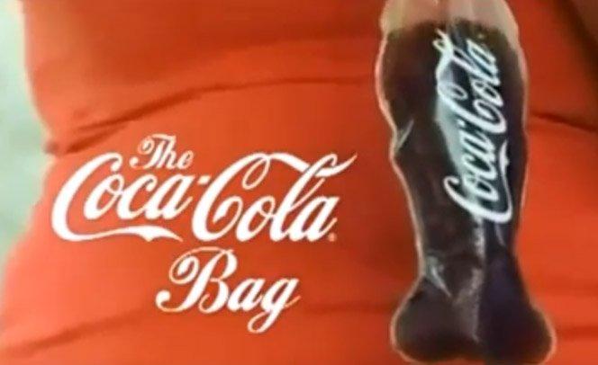Coca-Cola em saquinho