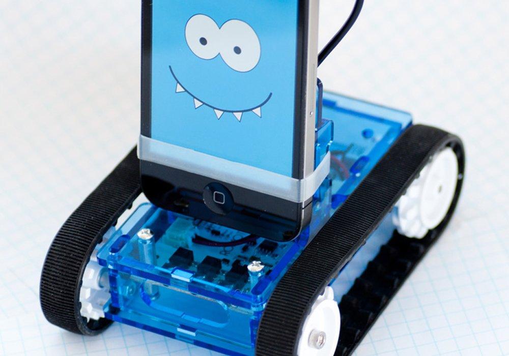 Produto transforma seu smartphone em um Robô