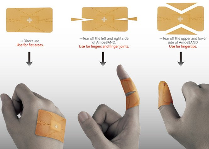 Redesign do Band Aid