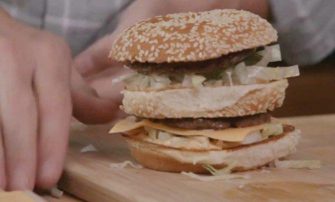 Aprenda a fazer o Big Mac com o chef do Mc Donalds