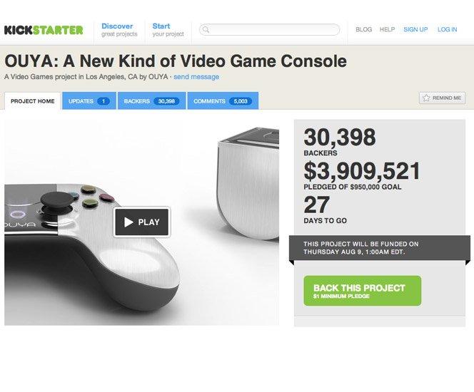 Console de games independente recebe mais de 3 milhões de investimento no KickStarter