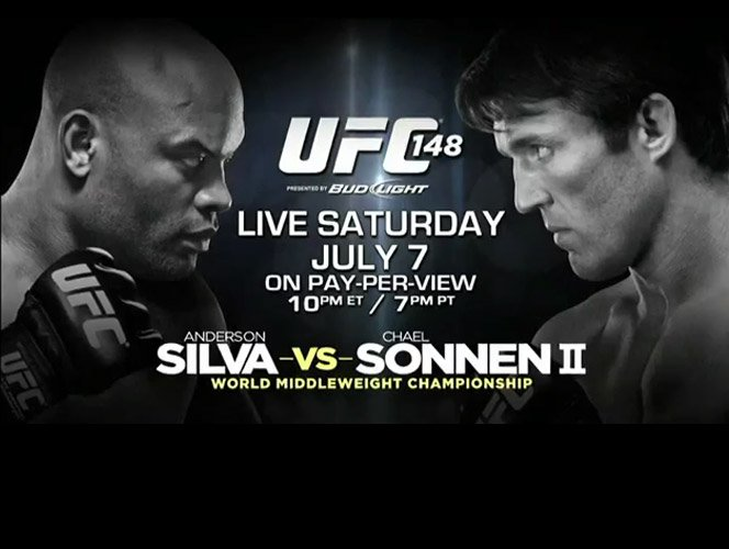Veja o treinamento e opiniões de Anderson Silva e Chael Sonnen para o UFC 148