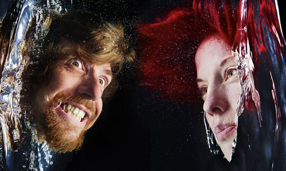 Incríveis retratos tirados dentro da água