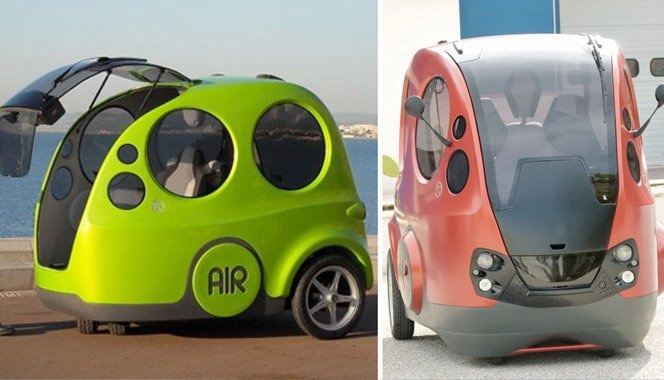O carro movido a ar custa 10 mil dólares