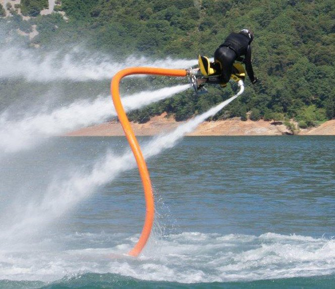 Produto inovador para se divertir no mar