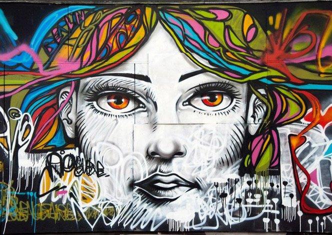 O Graffiti do brasileiro Marcelo Ment